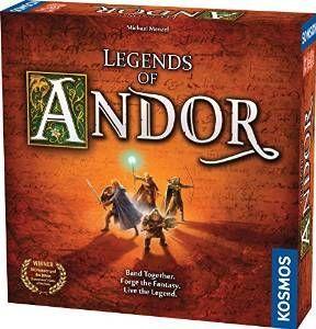Thames & Kosmos Legends of Andor: Base Game, Multicolor