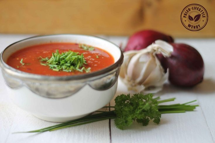 Snel-tomatensoepje