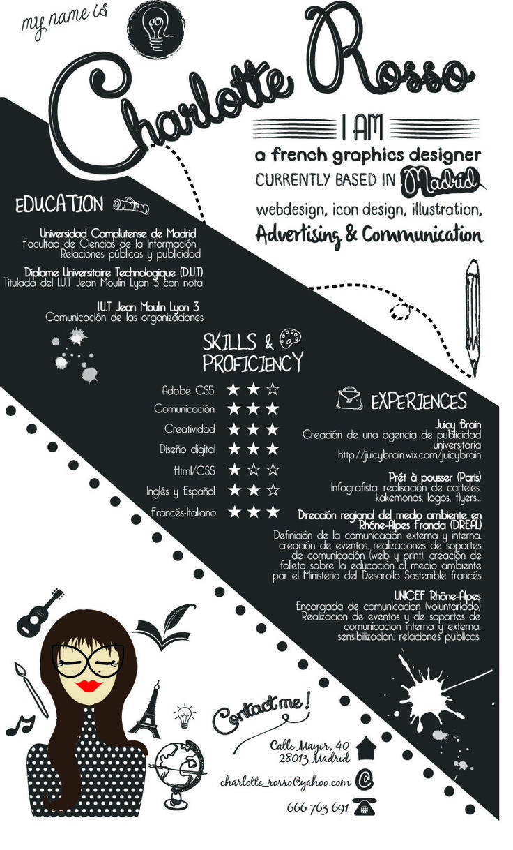 43 best cv images on Pinterest | Curriculum, Resume and Resume cv