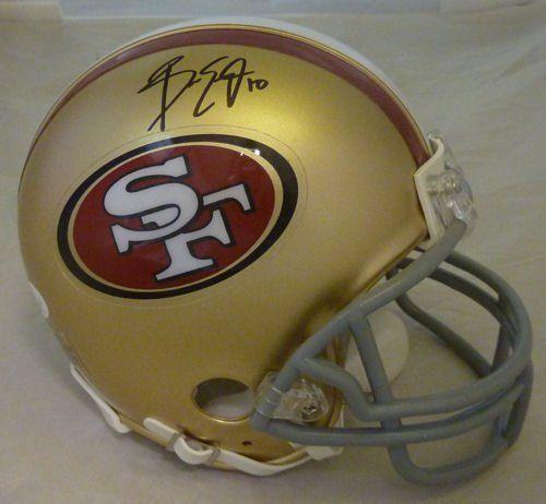 Isaac Bruce San Francisco 49ers Helmet