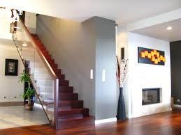 Znalezione obrazy dla zapytania schody szklana poręcz
