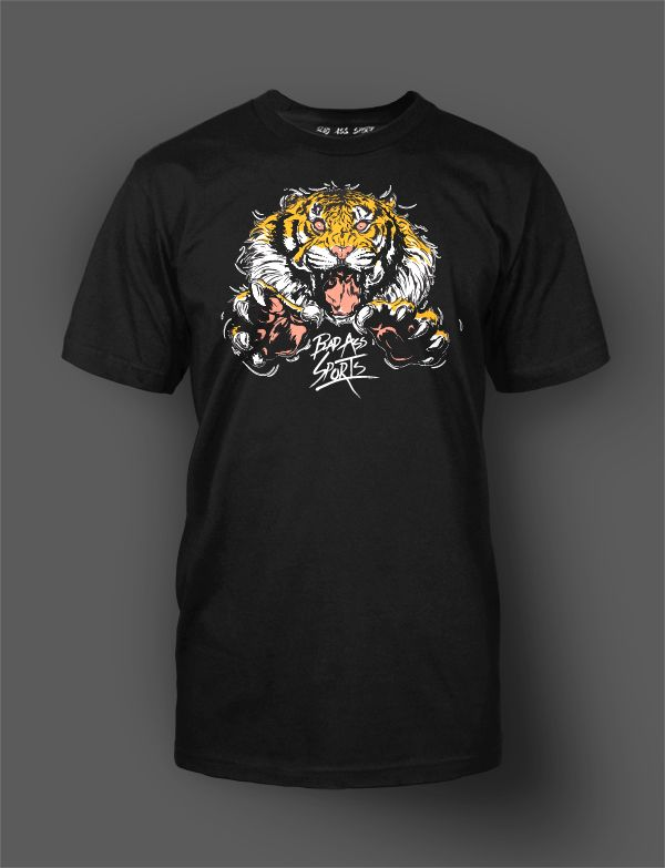 Shirt w/ tiger graphic