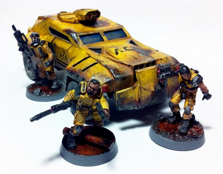 Antenocitis Workshop, Cars, Civilian, Conversion, Gang, Gangers, Necromunda, Truck, Van Saar, Vehicle