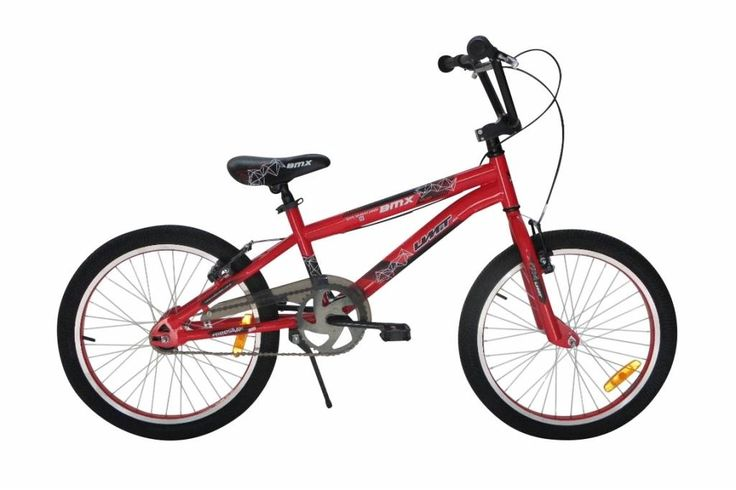 Bmx 20 inch Umit in blauw en rood - Goedkope online fietswinkel