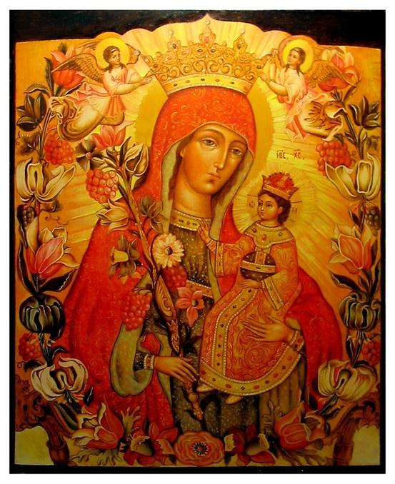 Russian icons Frank Bultinck http://jezusmariagroep.blogspot.be/.../11/god-is-liefde.html