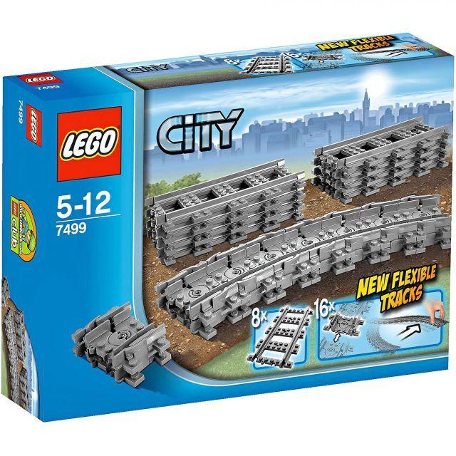 Đồ chơi LEGO 7499 Flexible and Straight Tracks – Bộ đường ray xe lửa