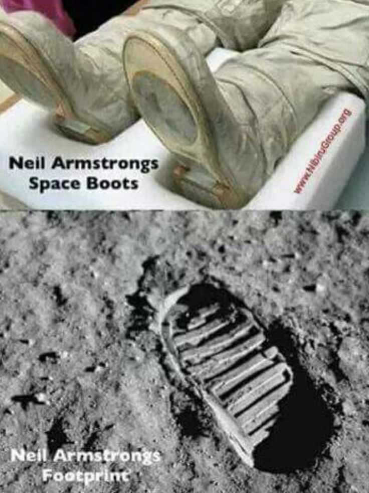 Neil Armstrong's Boots he wore on the Space Flight, and ...