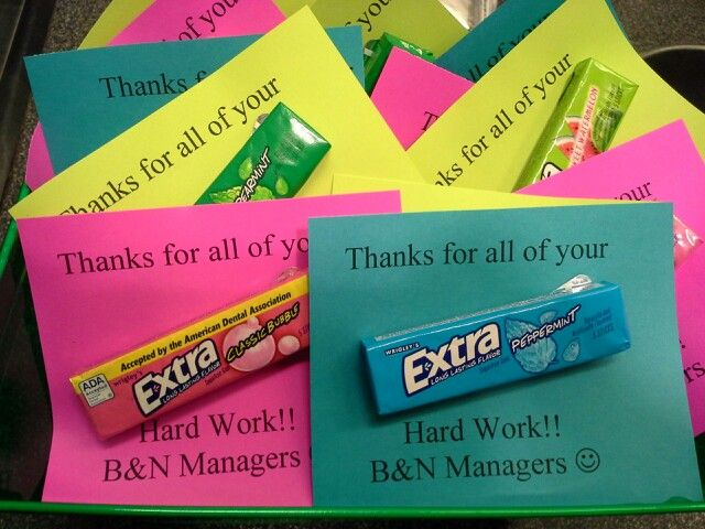 Day 1 of Employee appreciation week.