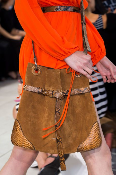 Michael Kors Collection - Spring 2016 Bags - The Best Handbags From New York Fashion Week Spring 2016 - ELLE