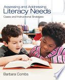 ASSESSMENT   This is a great resource for assessing student motivation for literacy. The book pays special attention to the different methods a teacher should use to assess motivation such as informal and formal observations, questionnaires, or use of the Burke Reading Inventory (consists of a series of questions designed to discover how learners feel about themselves as readers).