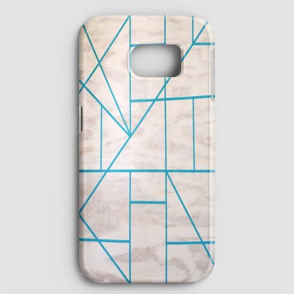 Geometric Wood Samsung Galaxy S7 Edge Case