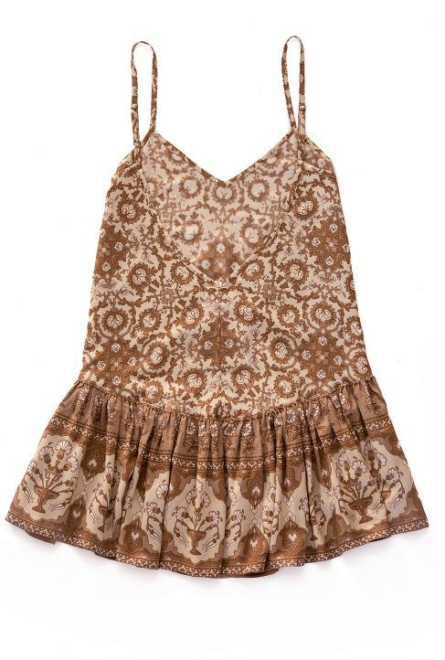 Ash Rose Play Dress - Cinnamon - Pastel Designs