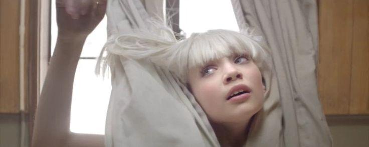 """Maddie Ziegler starred in Sia's music video """"Chandelier"""" [2014]"""