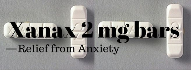Buy XANAX 2mg Bars Online – Relief from Anxiety