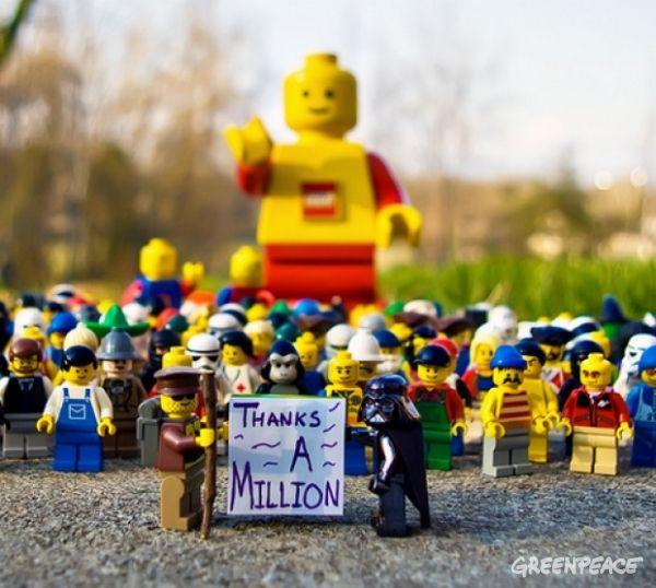 Thanks a Million LEGO