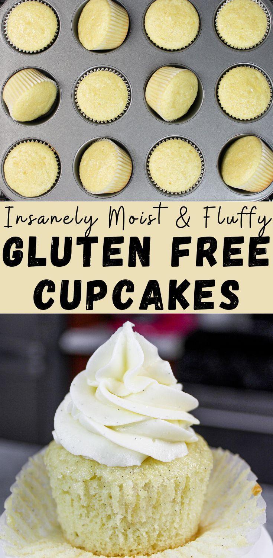 Gluten Free Vanilla Cupcakes Easy One Bowl Recipe Recipe In 2020 Gluten Free Vanilla Gluten Free Cupcakes Vanilla Gluten Free Cupcake Recipe