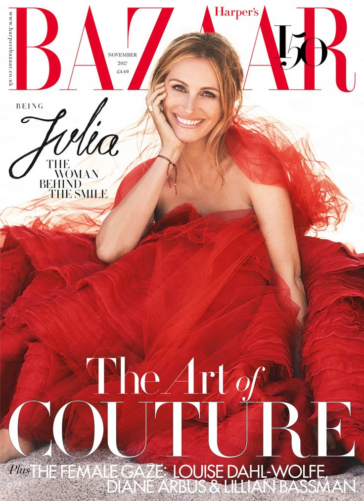 Julia Roberts for Harper's Bazaar UK November 2017