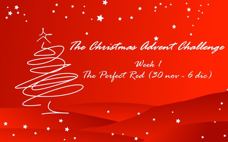Il Blog di Puffpuffgirl ♥: The Christmas Advent Challenge - The Perfect Red
