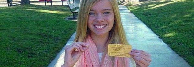 """14enne trova grosso diamante giallo al parco: """"Mi pagherò l'università"""""""