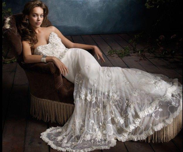 Abiti da sposa ricamati 2014: i modelli più belli [FOTO] - NanoPress Donna