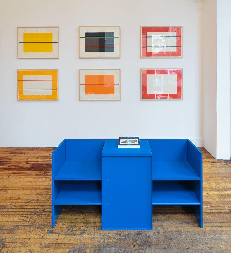 Donald Judd blue