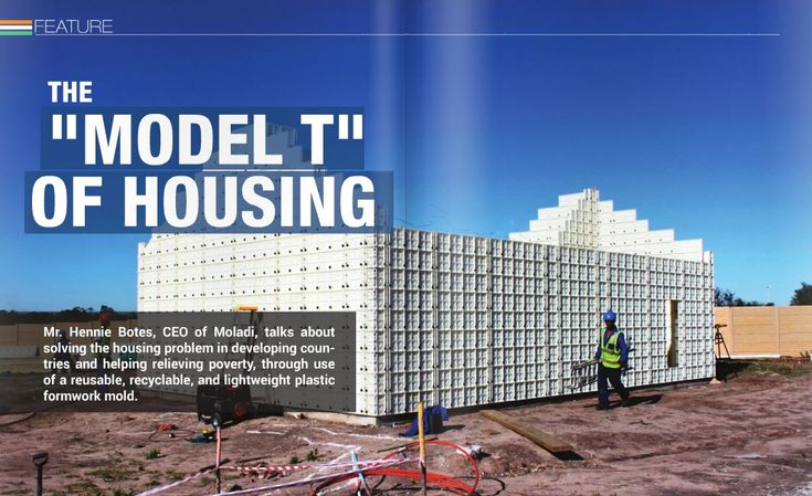 Low Cost Housing - moladi building system #lowcosthousing #moladi