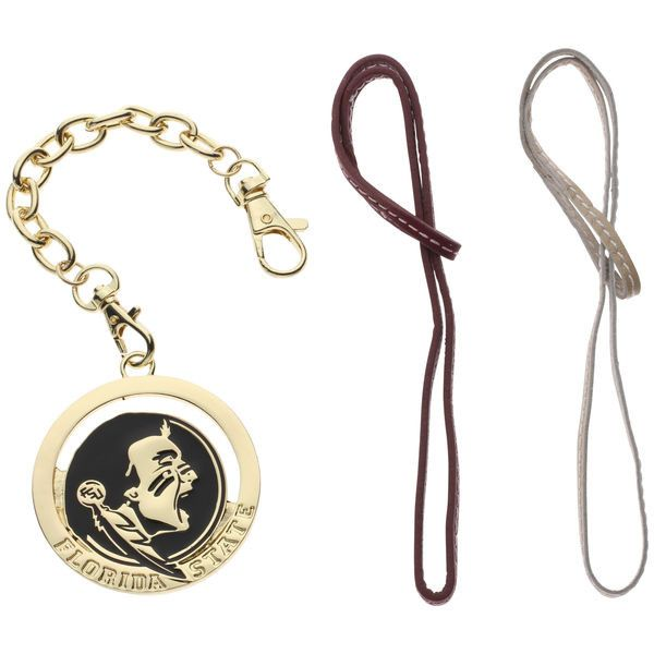 Florida State Seminoles Women's Handbag Charm Set