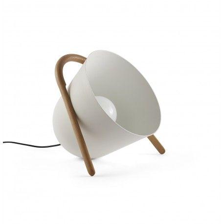 Lampe à poser design et originale nomade Elma par Tommaso Caldera