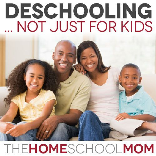 Have you decided to homeschool? You probably need some parental deschooling. Most parents have lived for many years in a world where the public school model of education is predominant.