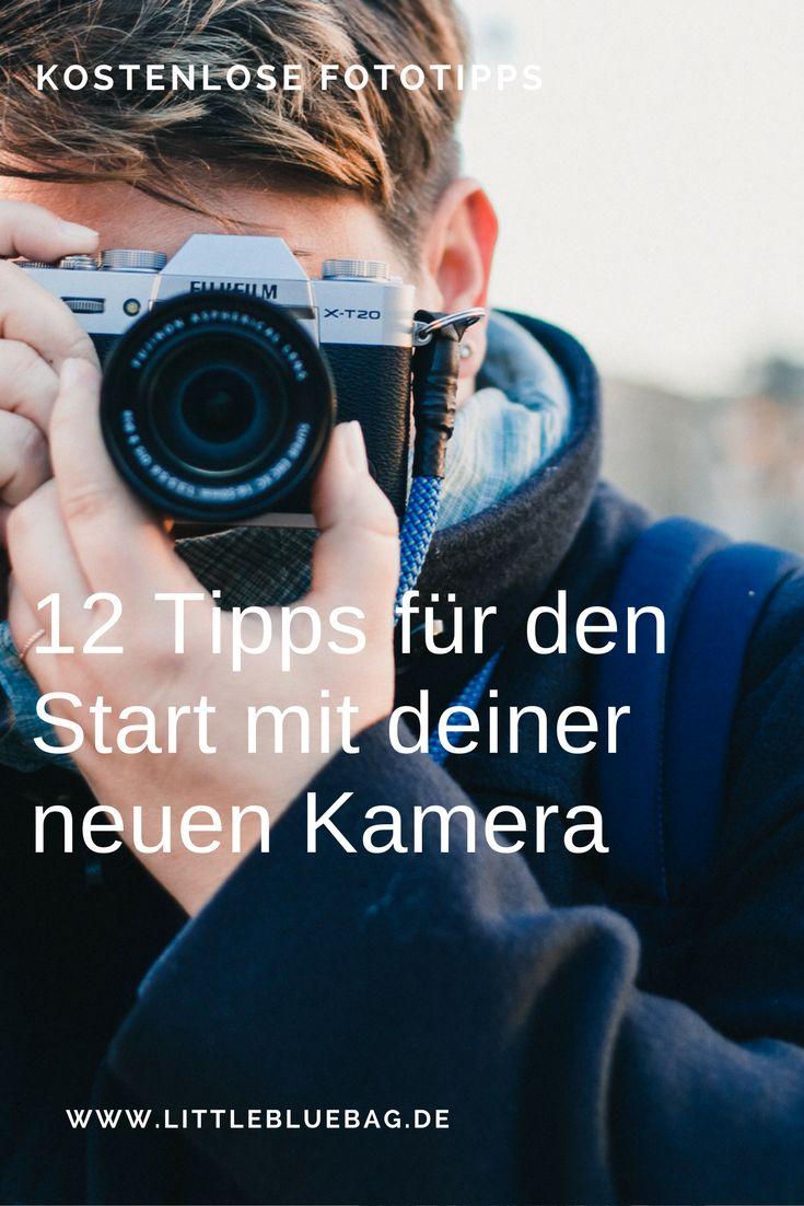 Unsere Tipps für den Start mit deiner neuen Kamera - so lernst du deine Kamera ganz schnell kennen