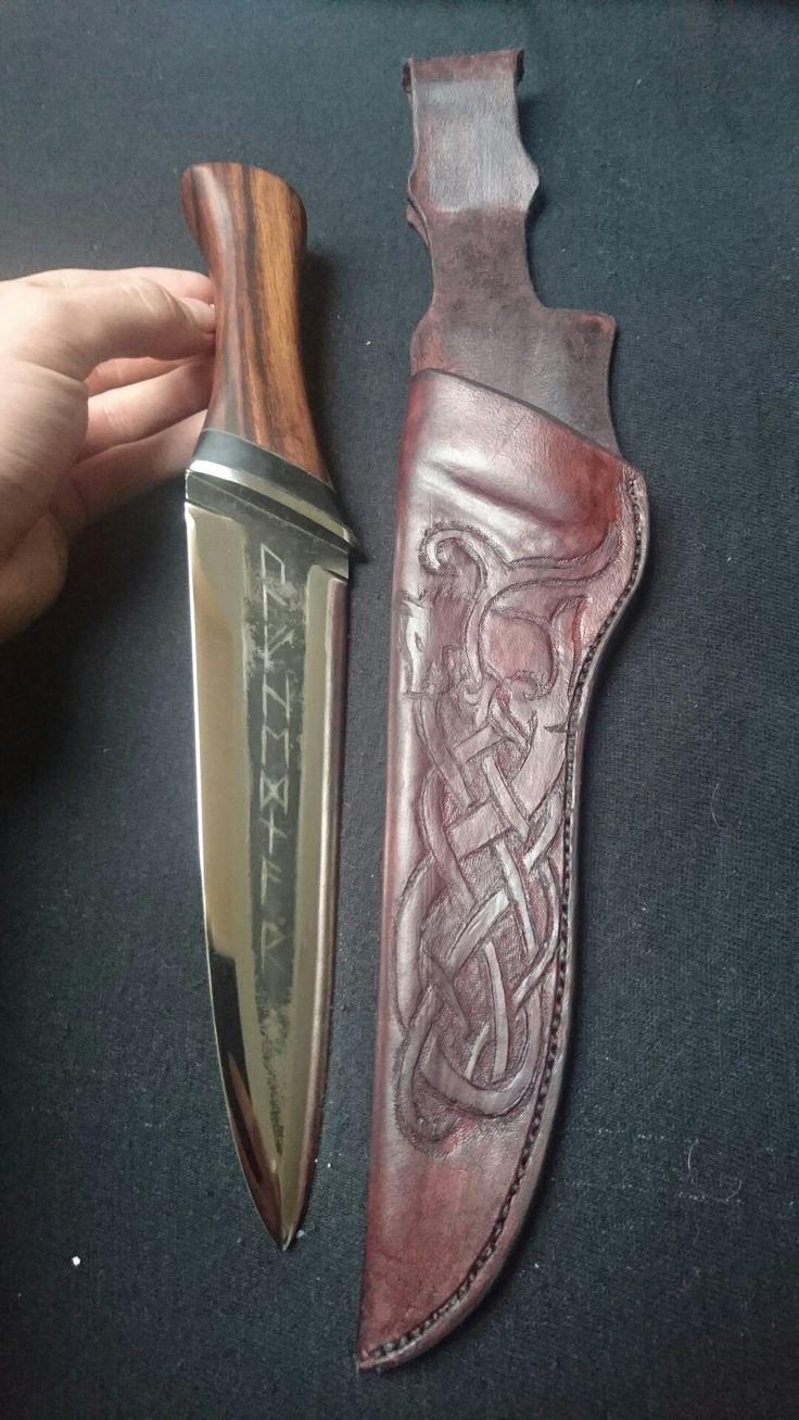Ulfhedanr viking knife