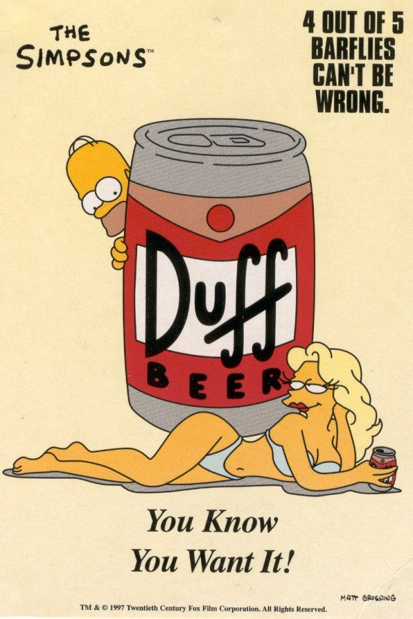 Legendary Simpsons Duff Bear Launches In UK