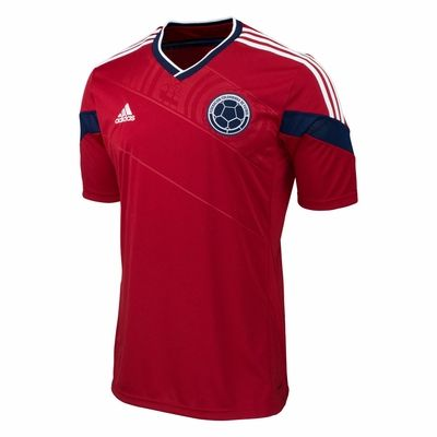 adidas Colombia 2014 World Cup Away Jersey