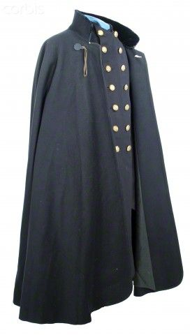 #fairfieldgrantswishes United States Civil War, Frock coat and cape of Major Charles G. Gould, 5th Vermont