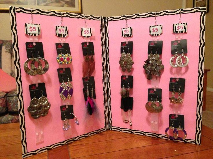 diy cheap jewelry display foam board at dollar tree 1