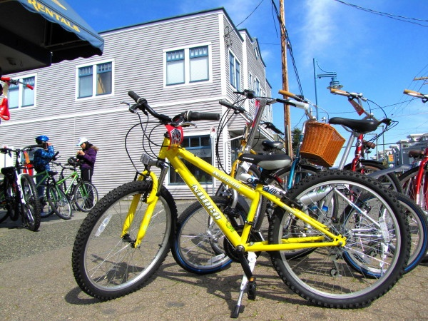 Bike rental shop in Richmond BC by RayVanEng, via Flickr