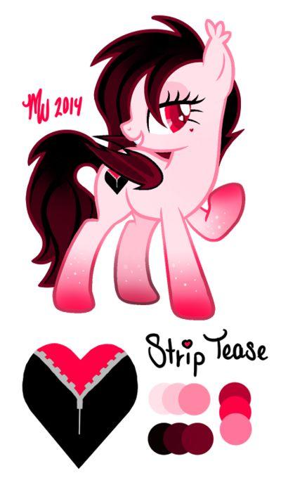 mlp oc strip tease by mychelle bad pony lol humor me pinterest ponies mlp and lol. Black Bedroom Furniture Sets. Home Design Ideas
