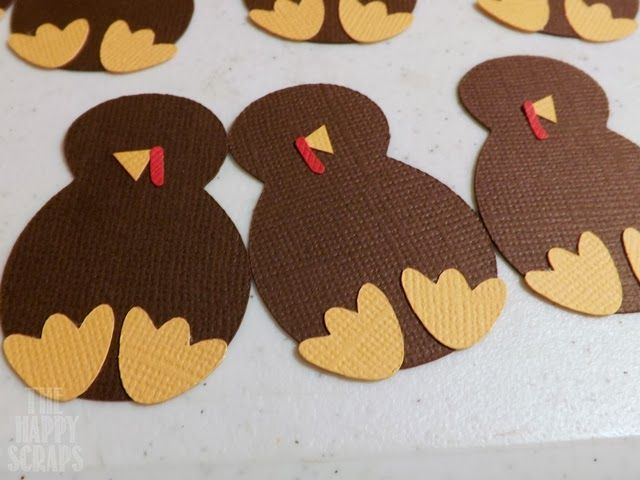 I made these fun Turkey Name Cards last year for Thanksgiving, and I had so much fun making them, that I thought I would share a tutorial with you this year so you could make your own.  They are easy to make, and you still have time to get them made before Thanksgiving. You'll need …