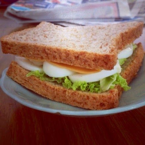 The Flavoursome Journey : Egg Sandwich