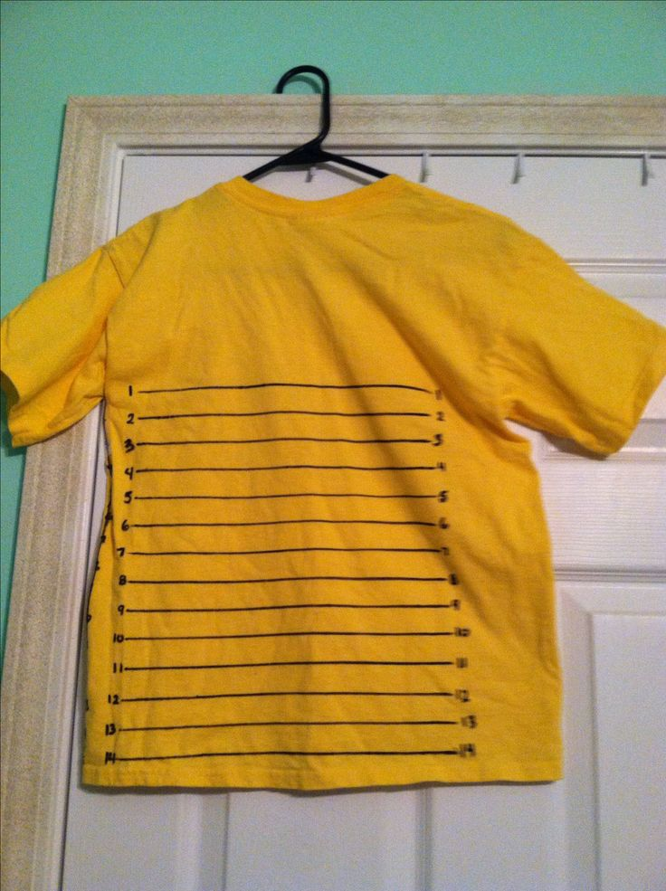 DIY hair growth chart t-shirt. By Angel Hair So I can finally count my hair growth !!
