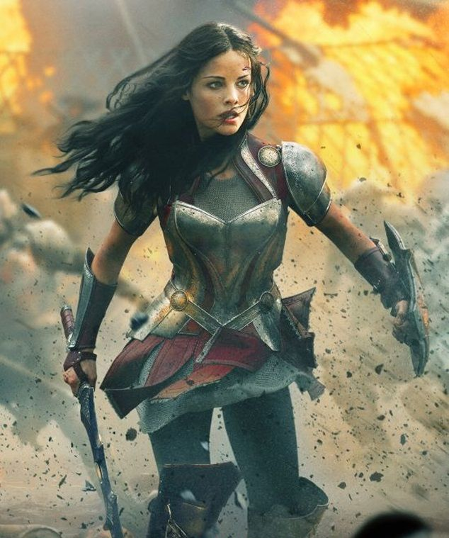 Jaimie Alexander as Sif in Thor: The Dark World. It looks ...