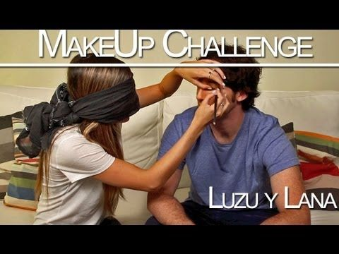 Makeup Challenge en Luzu - Luzu y Lana
