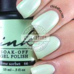 Ink Soak Off Gel Polish -  Lime Sorbet #66 Swatch
