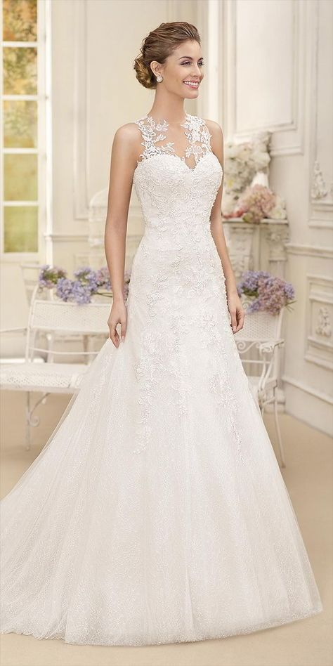 23 best νυφικά φορέματα images on Pinterest | Short wedding gowns ...