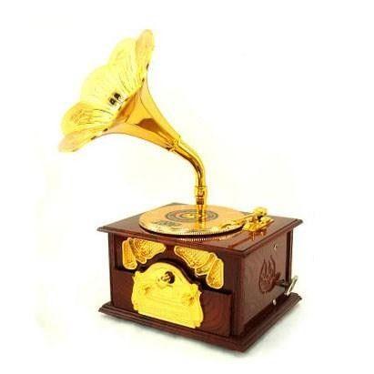 Gramafon Müzik Kutusu