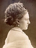 Luise Friederike Auguste, Gräfin von Alten, the double duchess.  She married Wiliiam Montagu, 7th duke of Manchester as her first husband, and after his death, took Spencer Cavendish, 8th duke of Devonshire as her second.