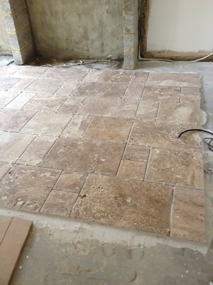 41 Best Images About Travertine Floor On Pinterest