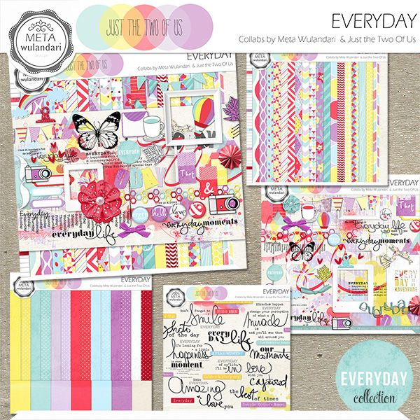 Everyday Collection :: Collections :: Memory Scraps
