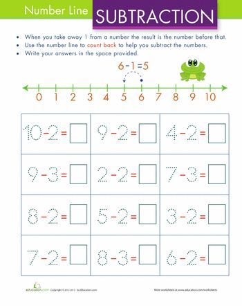... on Pinterest | Number Lines, Worksheets and Free Printable Numbers