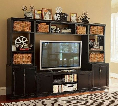 Movie Magic  http   www knightman com pottery barn  Small Tv StandTv Stand  DesignsWooden. Best 25  Wooden tv stands ideas on Pinterest   Mounted tv decor